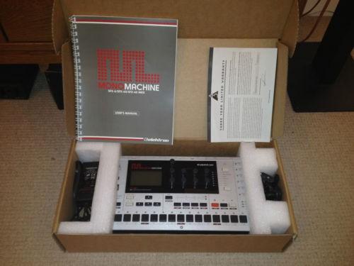 Elektron Monomachine SFX60+ MKII Impecable !!!