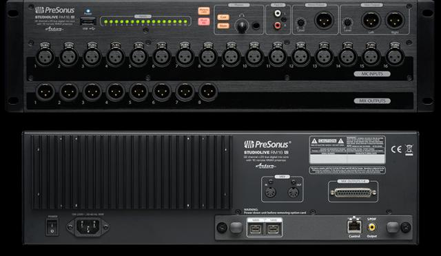 (o cambio) Mesa Digital en Rack Presonus StudioLive RM16AI