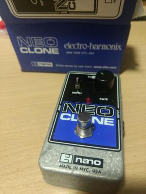 O cambio pedales Ehx Neo Clone Chorus y Trelicopter Tremolo