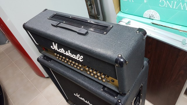 Marshall JVM410H + 4x12 1960BV
