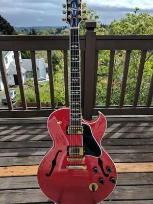 ¡¡REBAJA URGE VENTA!! Gibson ES-137 Custom Shop - Red Candy Apple