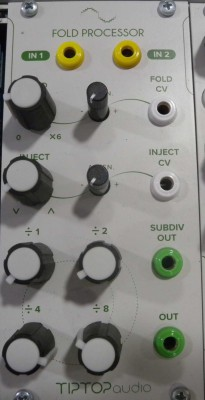 TIP TOP AUDIO FOLD PROCESSOR