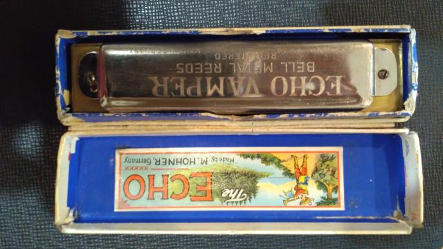 Harmonica vintage diatonica en Do. M.Honner