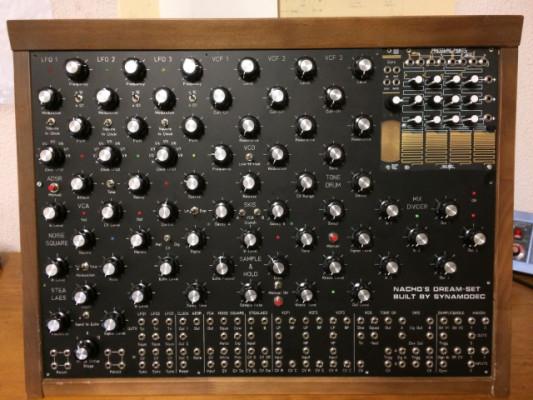 Macro sintetizador personalizado (18 modulos)