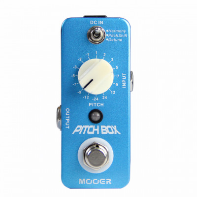 pedal   Mooer Pitch box