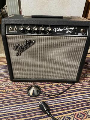 Fender Vibro Champ original USA 1964 con Weber alnico