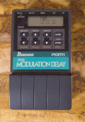 Ibanez PDM-1 Modulación-Delay Vintage