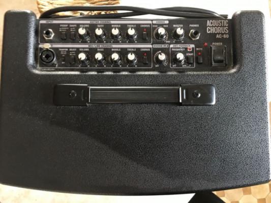 Ampli para acustica Roland AC60