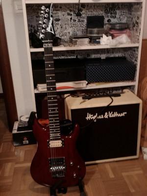 "Vendo: Vendo: Ibanez JS100 (modelo Joe Satriani) ""Hipervitaminada"""