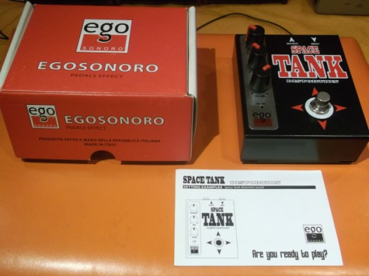 Ego Sonoro pedal SPACE TANK (Distortion)