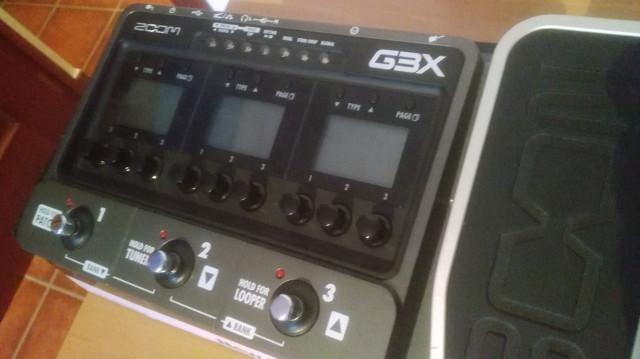 ZOOM G3x pedalera multiefectos