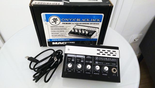 Mackie Onyx Blackjack