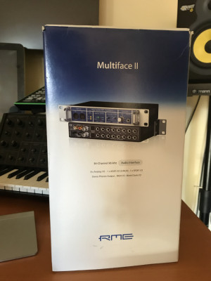 RME Multiface II + PCI Firewire + KRK Rokit 6