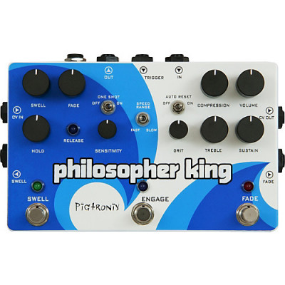 REBAJA Pigtronix Pilosopher King: Sustainer-Overdrive-Swell