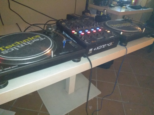 Equipo DJ vinilo completo technics