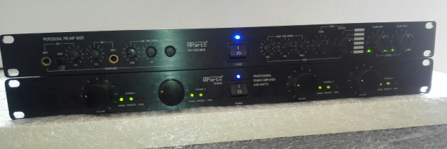 APART PM-7400 mk2 + APART PA4060