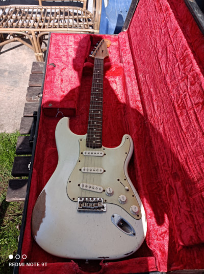 Fender stratocaster Road worn mejorada((reservada)))