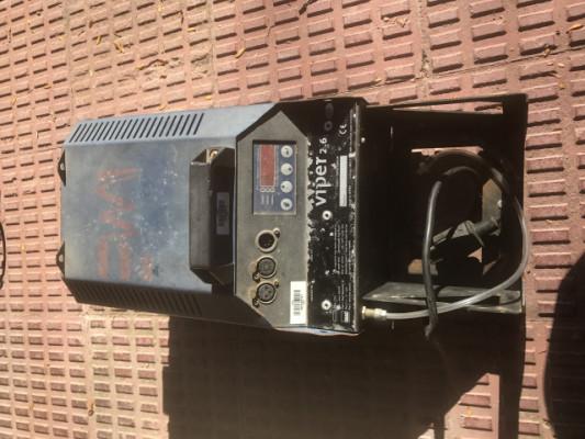 maquina de humo viper 2.6