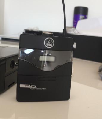 AKG SR 470 Sistema inalámbrico (micro C519 Opcional)