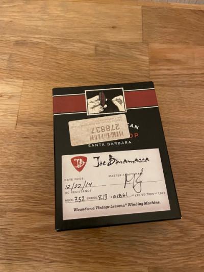 Seymour Duncan  Joe Bonamassa Custom Shop Limited Edition 1959