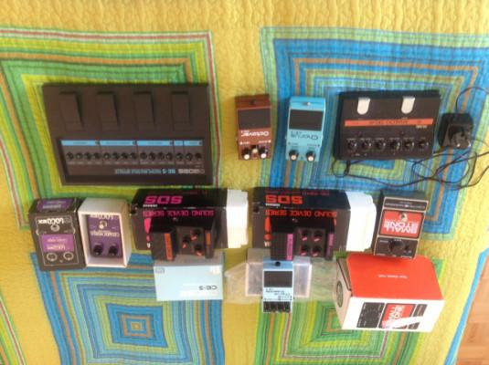 Pedales de Chorus Vintage - Locobox Cosmochorus / DOD 690