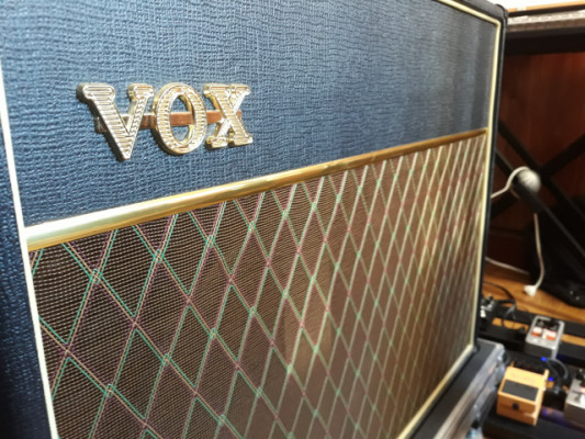 "Vox Ac30 CC2 Blue Alnico Combo Amplifier 2x12"""