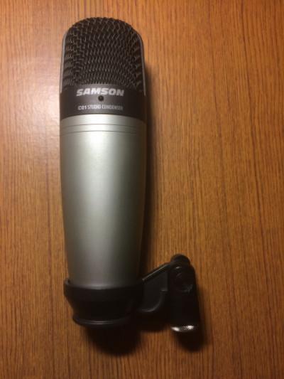 Micrófono de condensador Samson C01