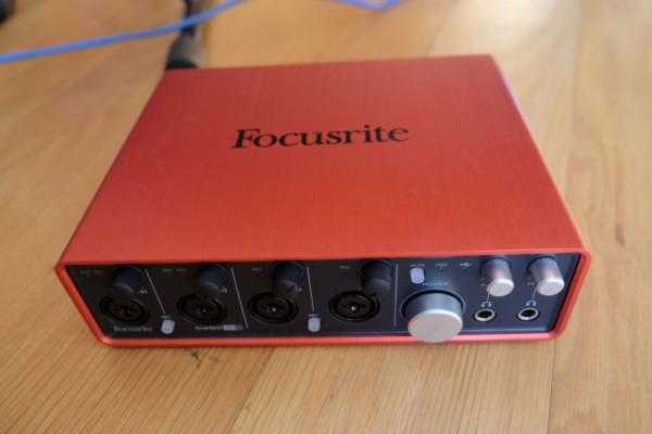 tarjeta audio Focusrite Scarlett 18i8