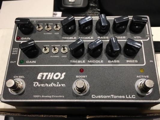 Ethos Overdrive - Pedal de alta gama - Clon Dumble Amp