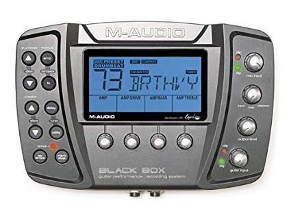 CAMBIO:-audio Black Box