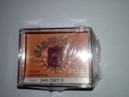2 Agujas de tocadiscos Vox FOX DIAMANTE 590 DST-E