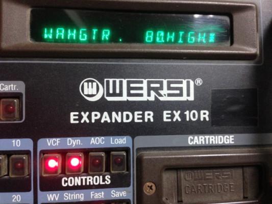WERSI EX10R  Expander with 8-bit drums 1985