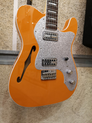 Fender Parallel Universe Telecaster Thinline Super Deluxe Orange.