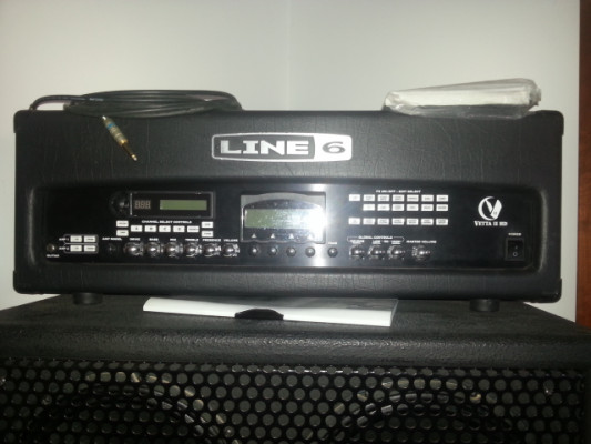 Cabezal Line 6 Vetta II HD, con dos cajas JBG 4x12 Jensen Custom. ADMITO CAMBIOS. ESTA CASI NUEVO.