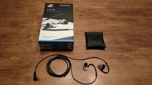 Auriculares In Ear Sennheiser IE 40 Pro Clear ENVIO INCLUIDO