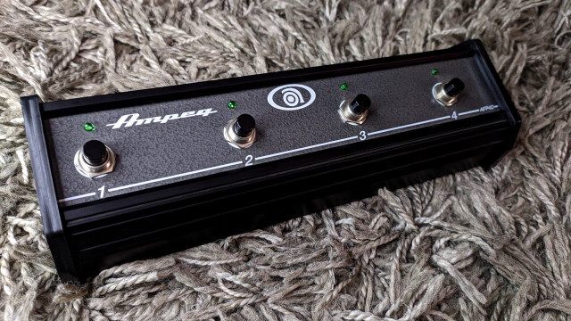 Ampeg AFP4D 4 Button Midi Footswitch