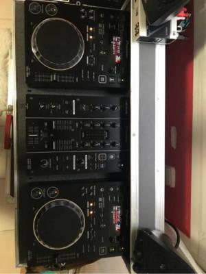 Pioneer CDJ 350 + DJM 350 + Flightcase
