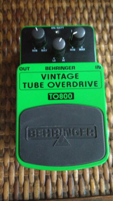 pedal Overdrive BEHERINGUER TO800
