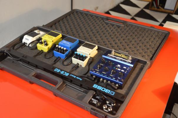 Pedal-Board o caja para pedales BOSS