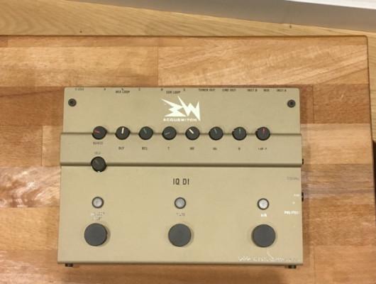 Previo de guitarra con caja de inyección Lehle RMI Acouswitch IQ