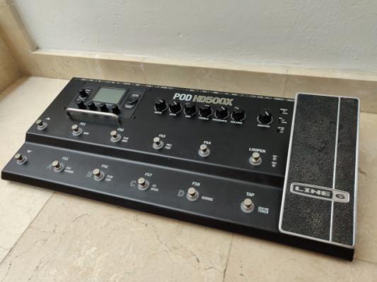 Line6 POD HD500X (multiefectos guitarra)
