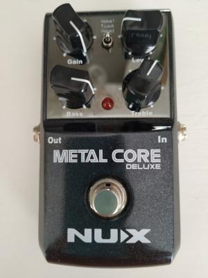 Pedal de Guitarra NUX Metal Core Deluxe