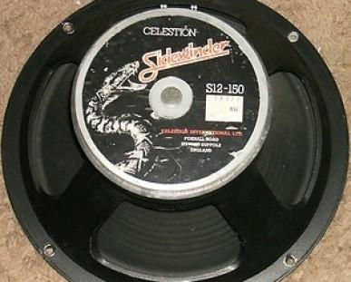 "Celestion Sidewinder 150 watios PE 12""  England RESERVADO"