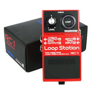 Boss rc-1 pedal