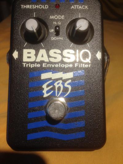 EBS efectos para bajo: BassIQ Auto Wah y Multi Comp