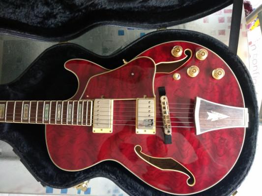 Guitarra eléctrica Ibanez de caja