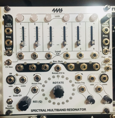4ms Spectral multiband resonator. Eurorack