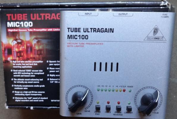 ultragain mic100 behringer
