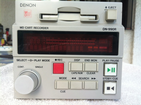 MINIDISC PRO DENON - 990 R
