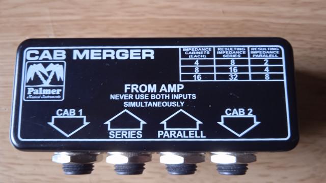 PALMER PCABM  splitter-switcher para altavoces.